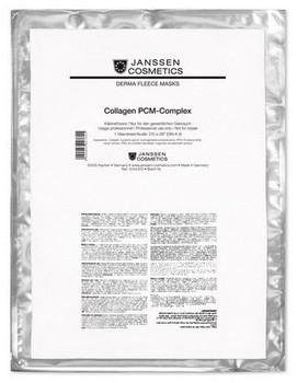 Janssen Collagen fleece mask PCM-complex (Коллагеновая биоматрица с РСМ-комплексом), 1 шт - купить, цена со скидкой